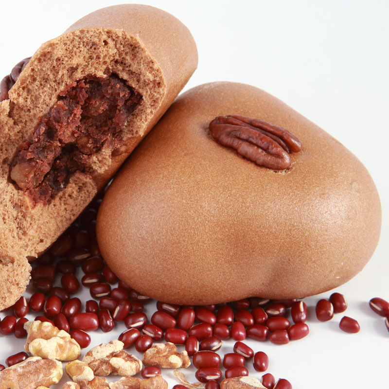 red bean with nuts
