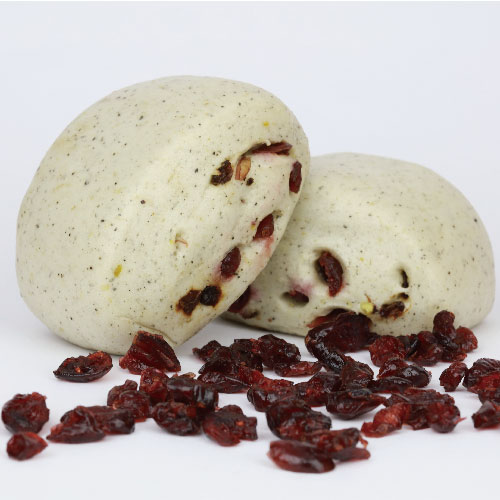 nuts Mantou with cranberry